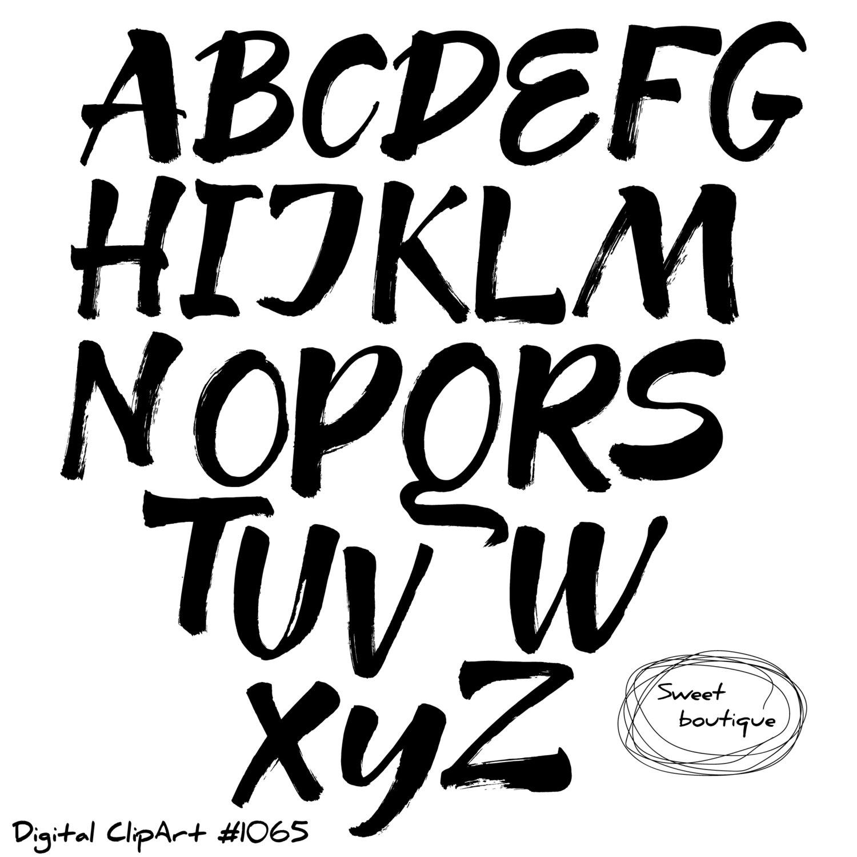 Fonts Drawing At Getdrawings