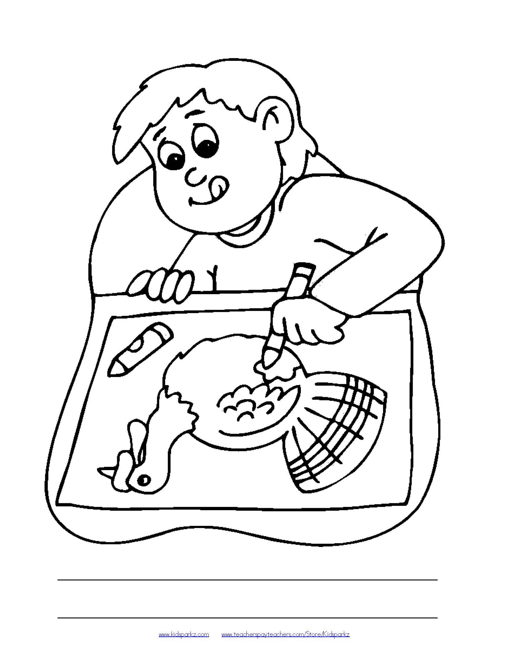 Food Plate Drawing At Getdrawings