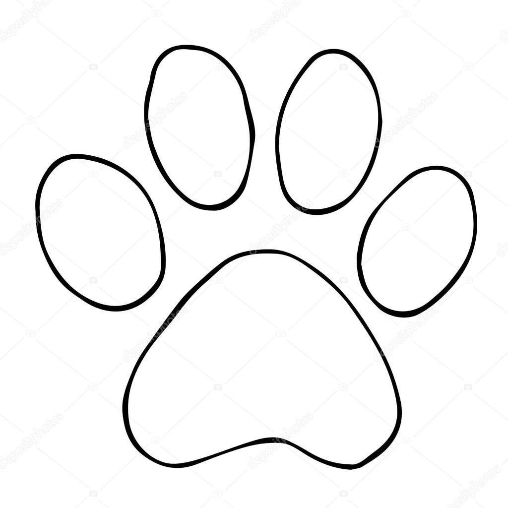Footprint Drawing At Getdrawings