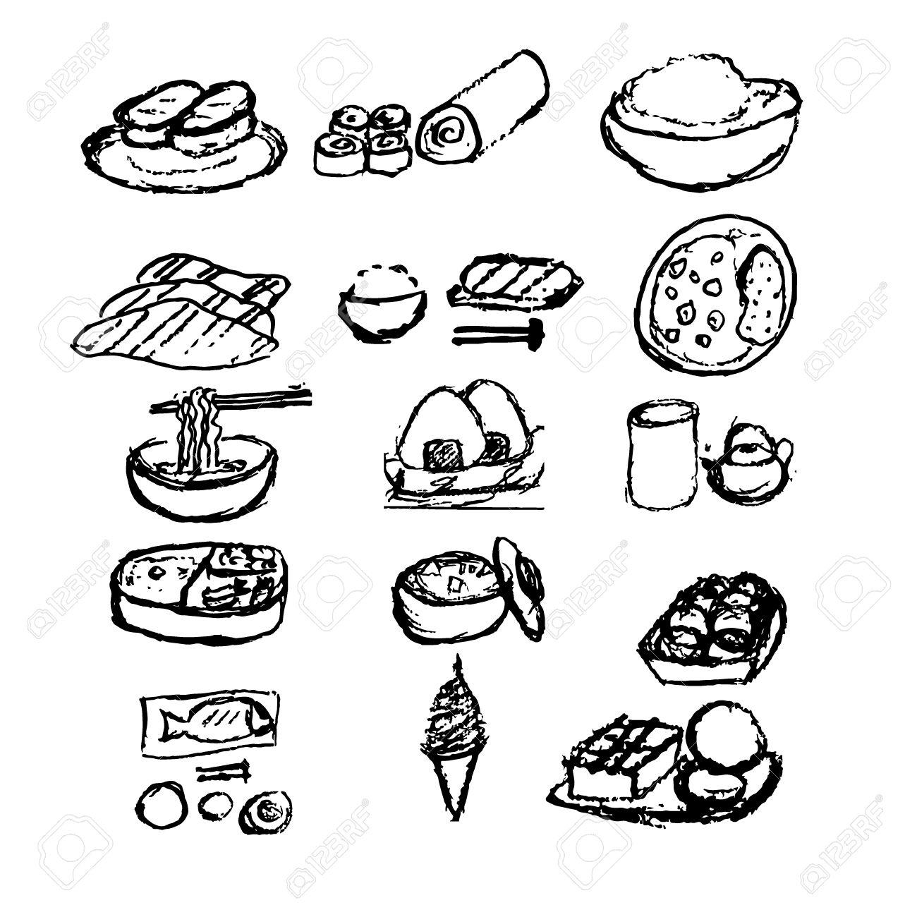 Free Food Drawing At Getdrawings