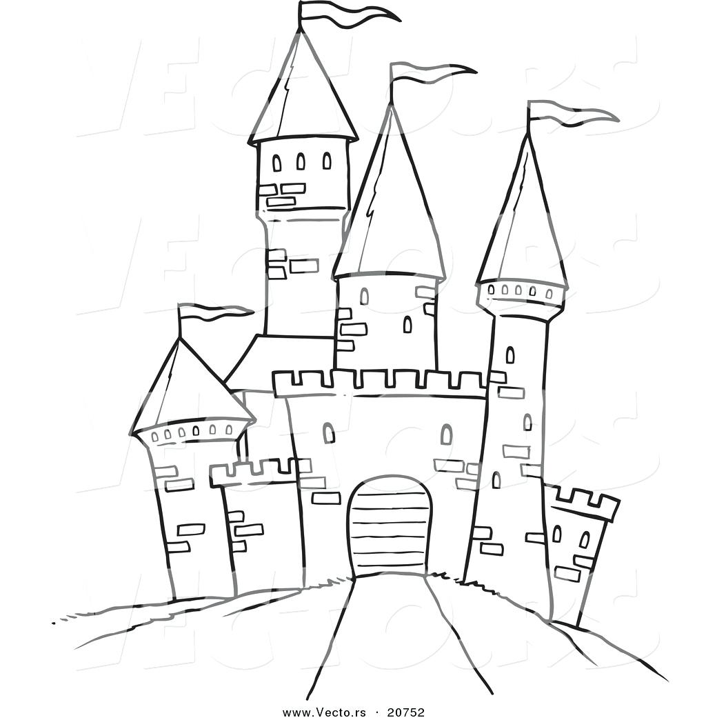 Frozen Ice Palace Coloring Pages - Free Coloring Page