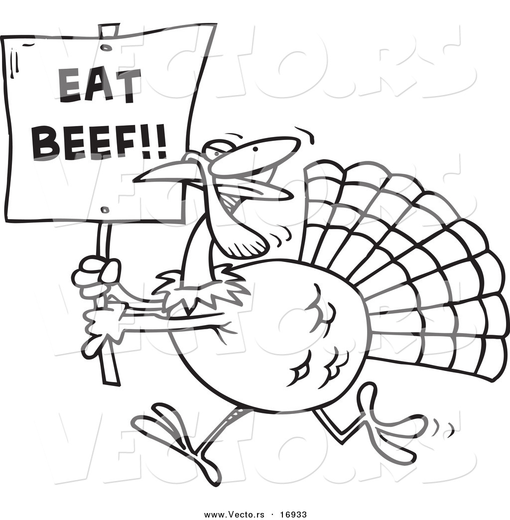 Funny Turkey Drawing At Getdrawings