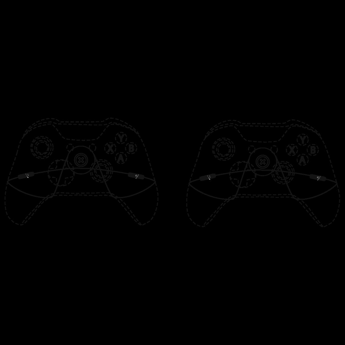 Gaming Controller Drawing At Getdrawings