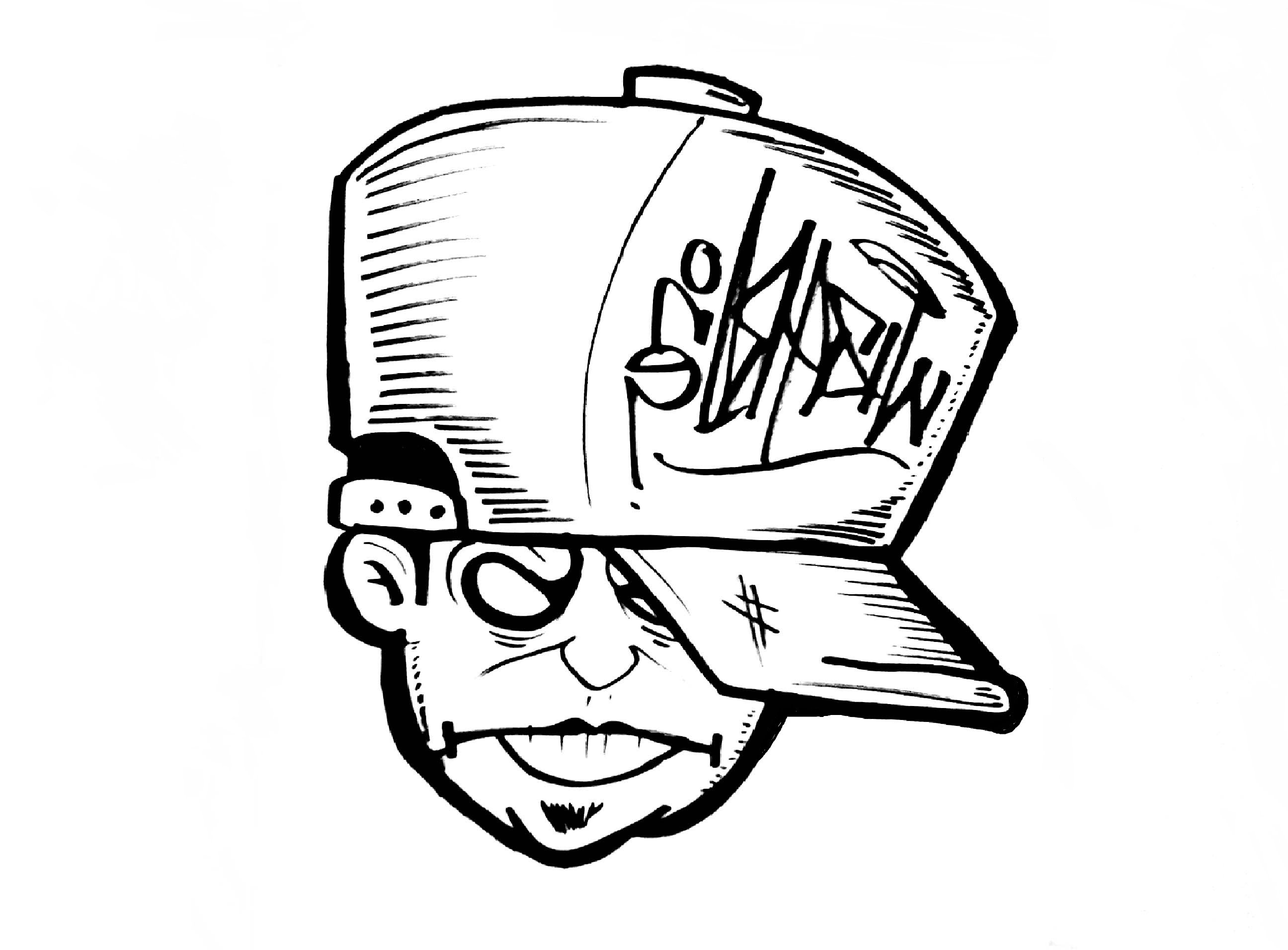 Gangster Character Drawing At Getdrawings