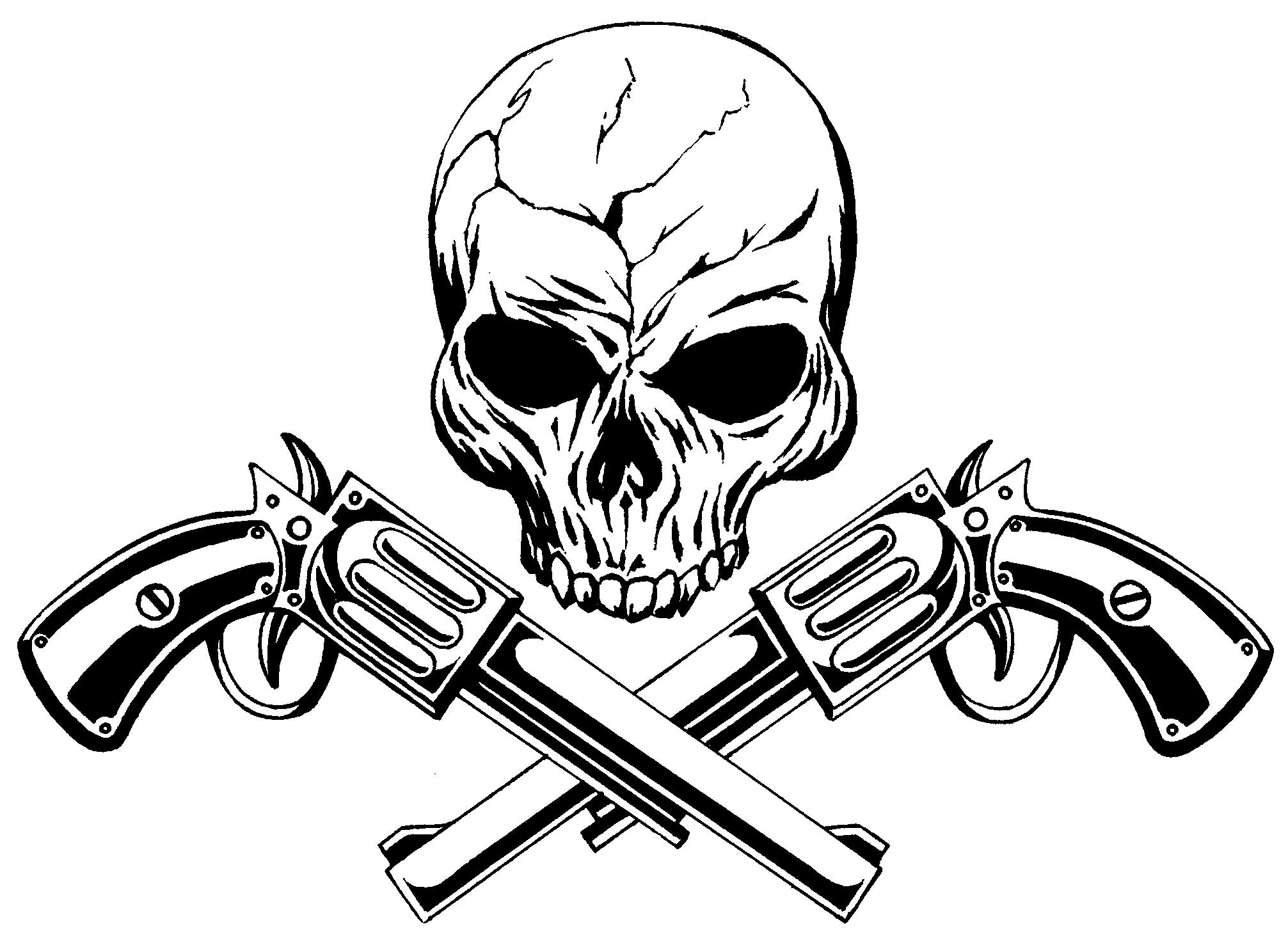 Gangster Skull Drawing At Getdrawings