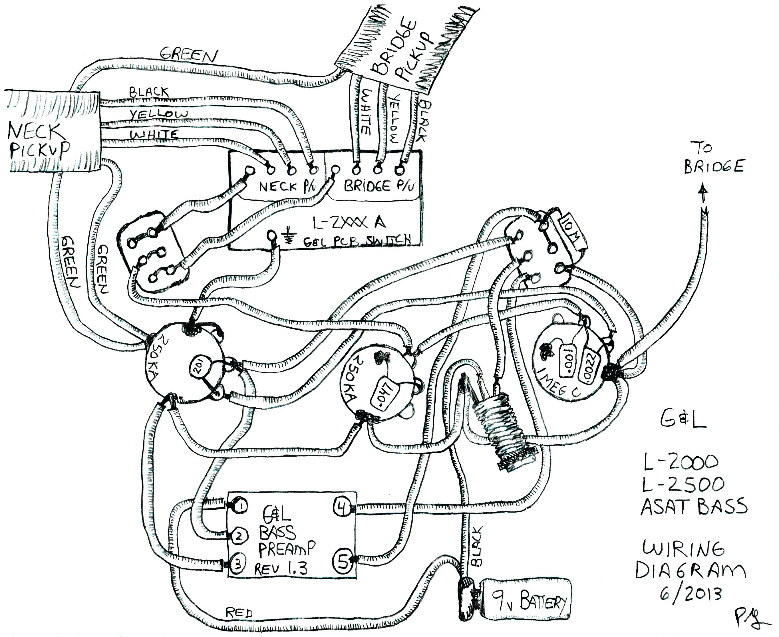 P90 Pickup Wiring Diagram
