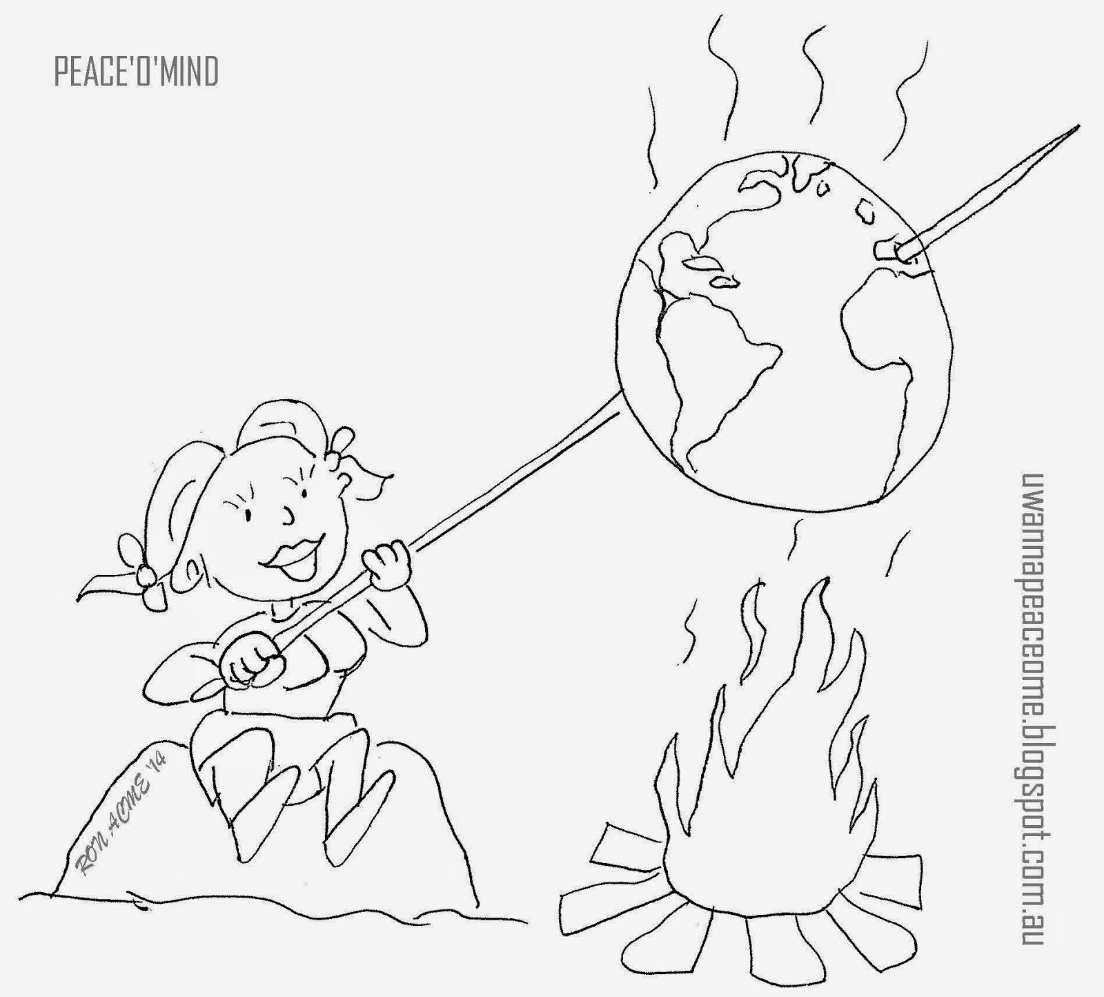 Global Warming Drawing At Getdrawings