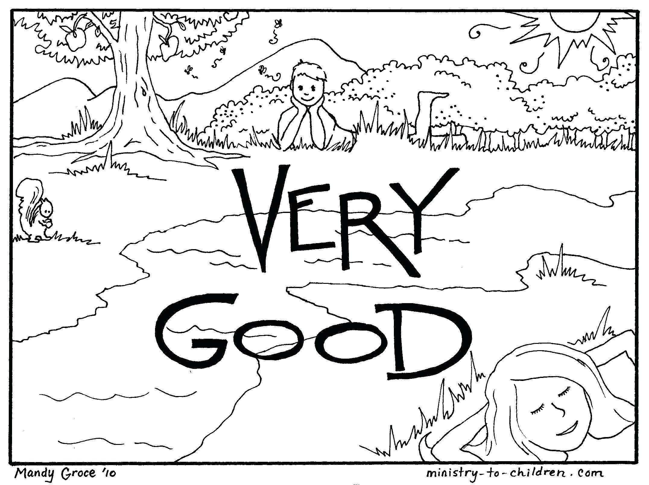 Gods Creation Drawing At Getdrawings