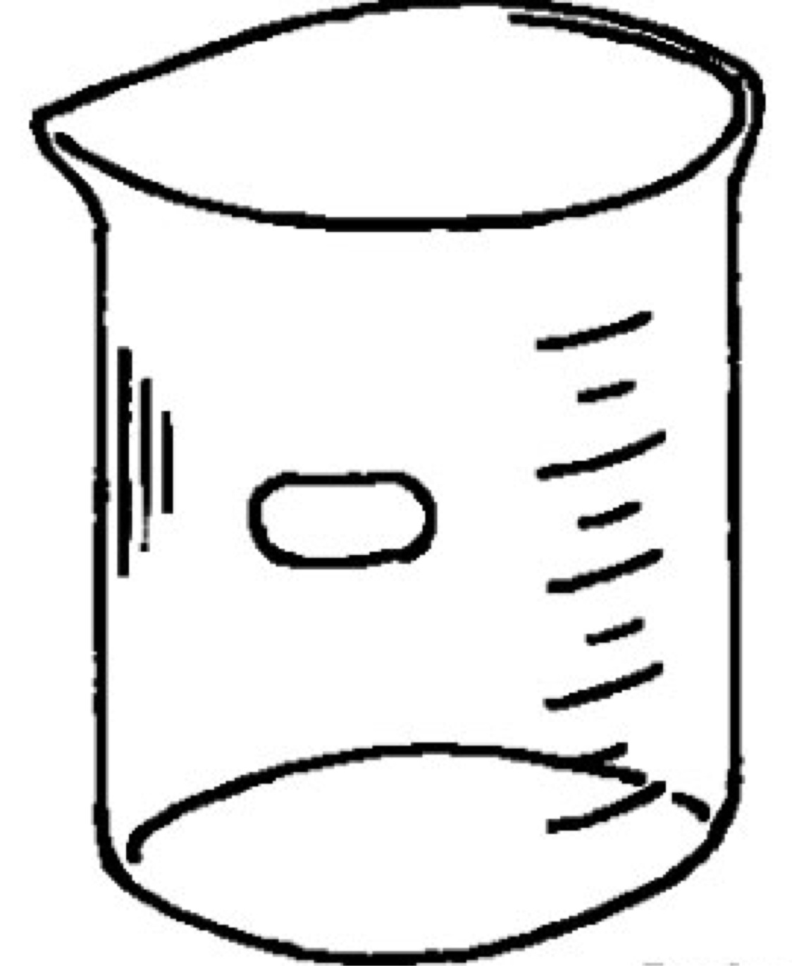 Graduated Cylinder Drawing At Getdrawings