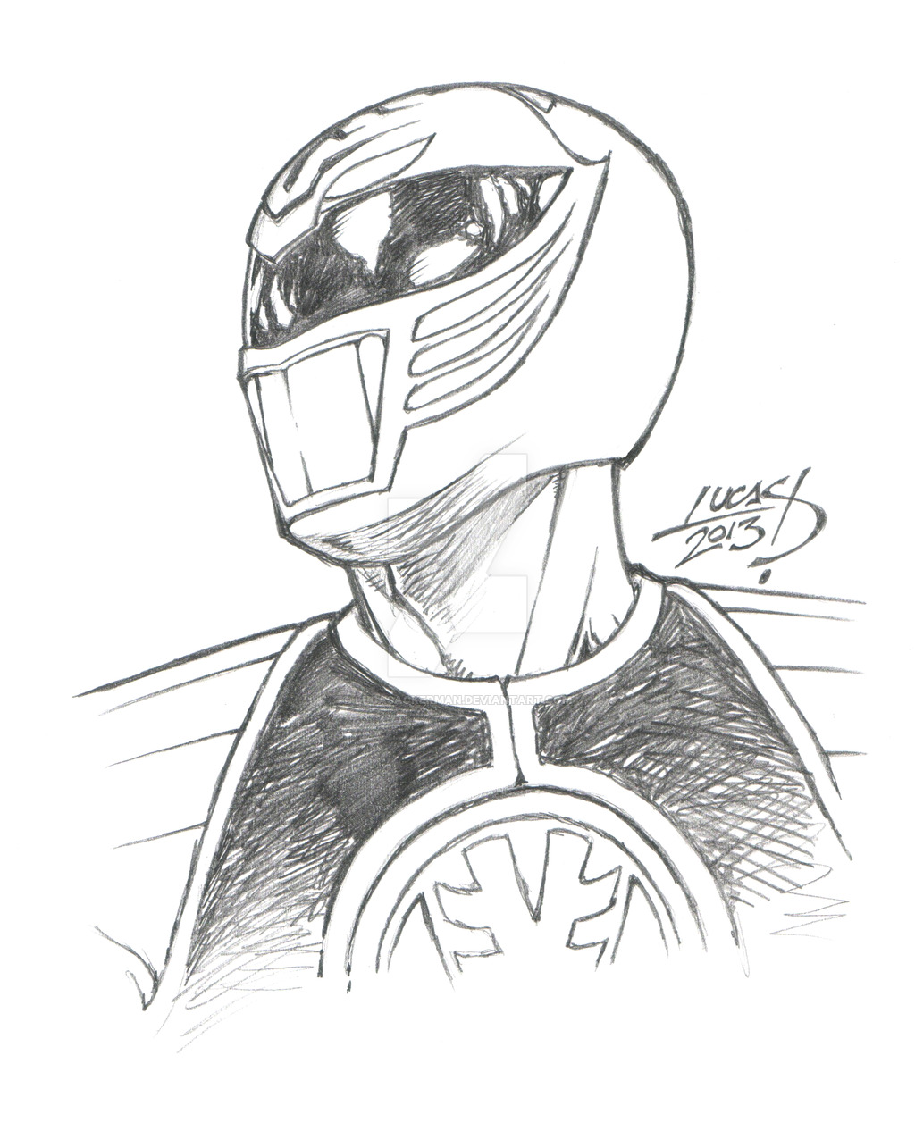Green Power Ranger Drawing At Getdrawings