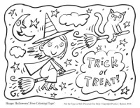 free halloween colouring templates