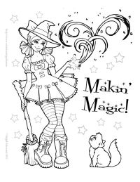 free halloween coloring pages pdf