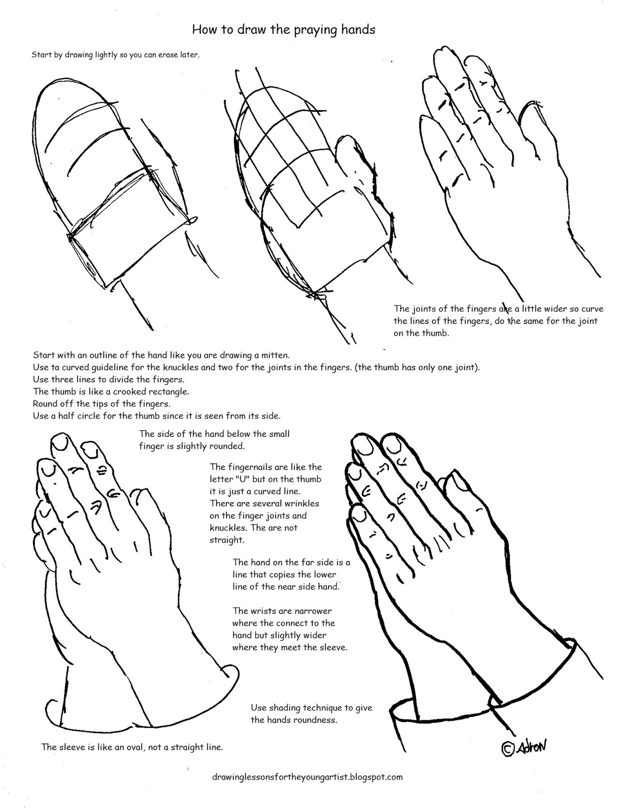 Hands For Drawing At Getdrawings