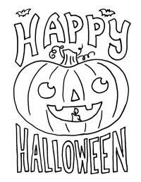 free printable halloween pictures to color