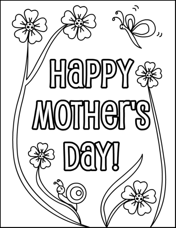Happy Mothers Day Drawing at GetDrawings.com | Free for ...