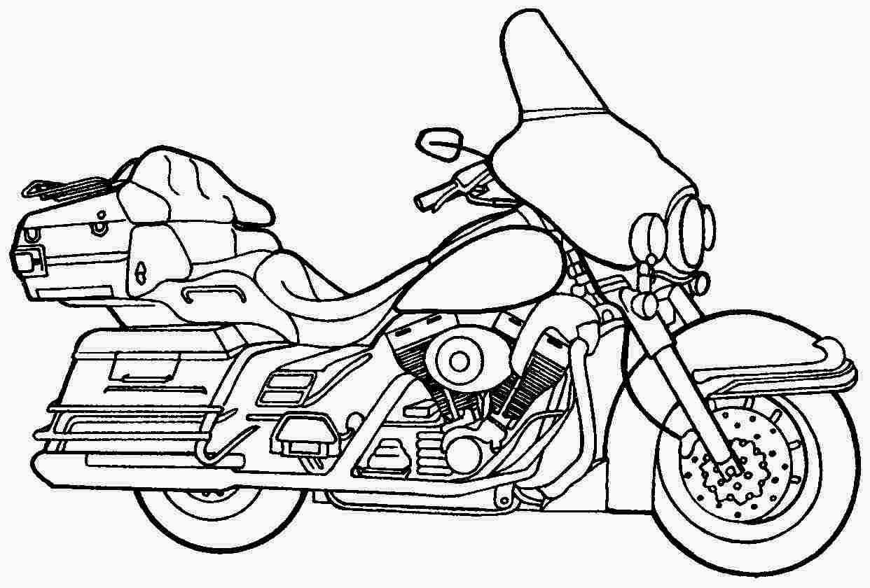 Harley Davidson Drawing At Getdrawings