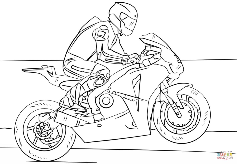 Harley Davidson Drawing Outline At Getdrawings