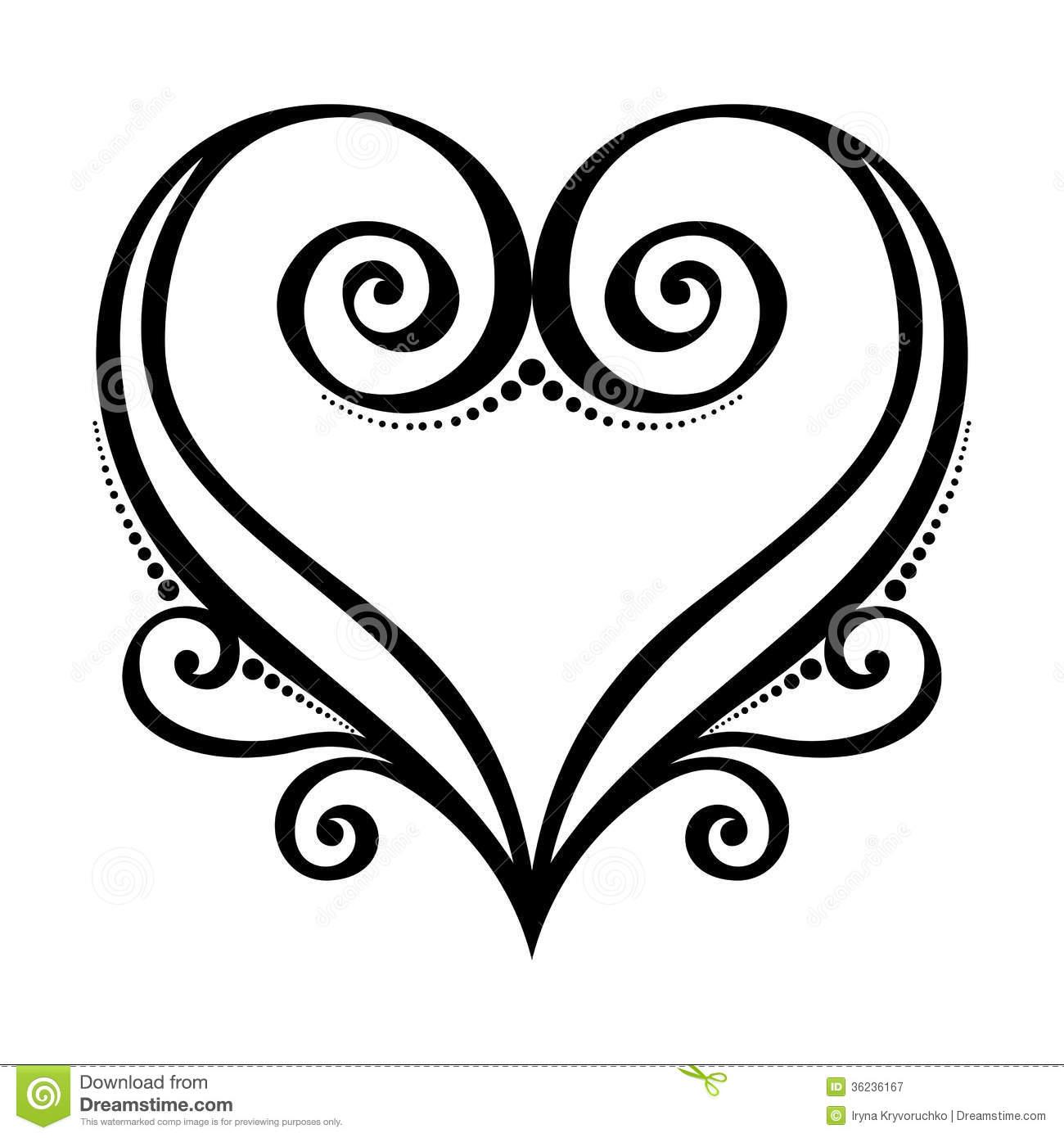 Heart Drawing Clip Art At Getdrawings