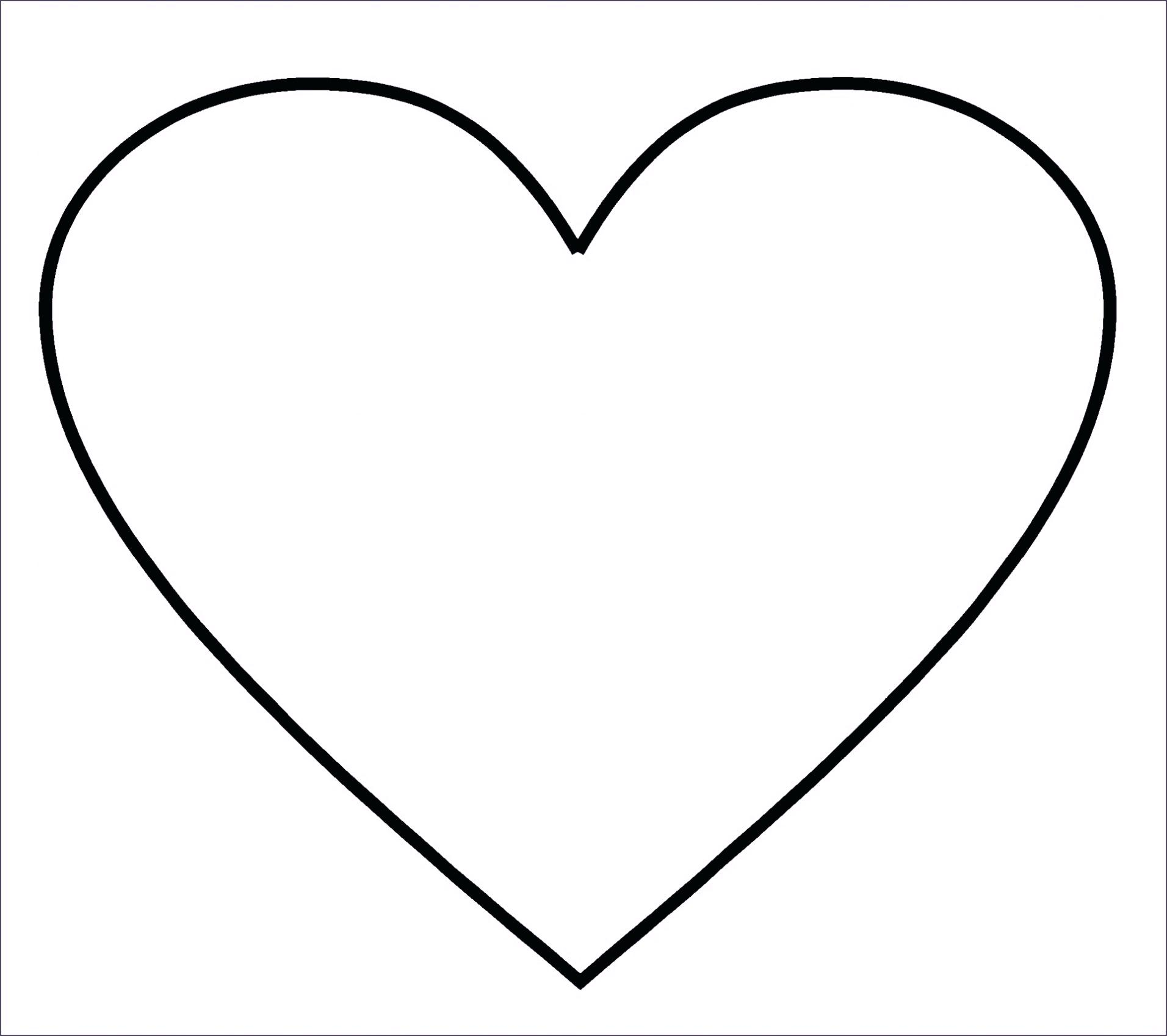 Heart Drawing Outline At Getdrawings