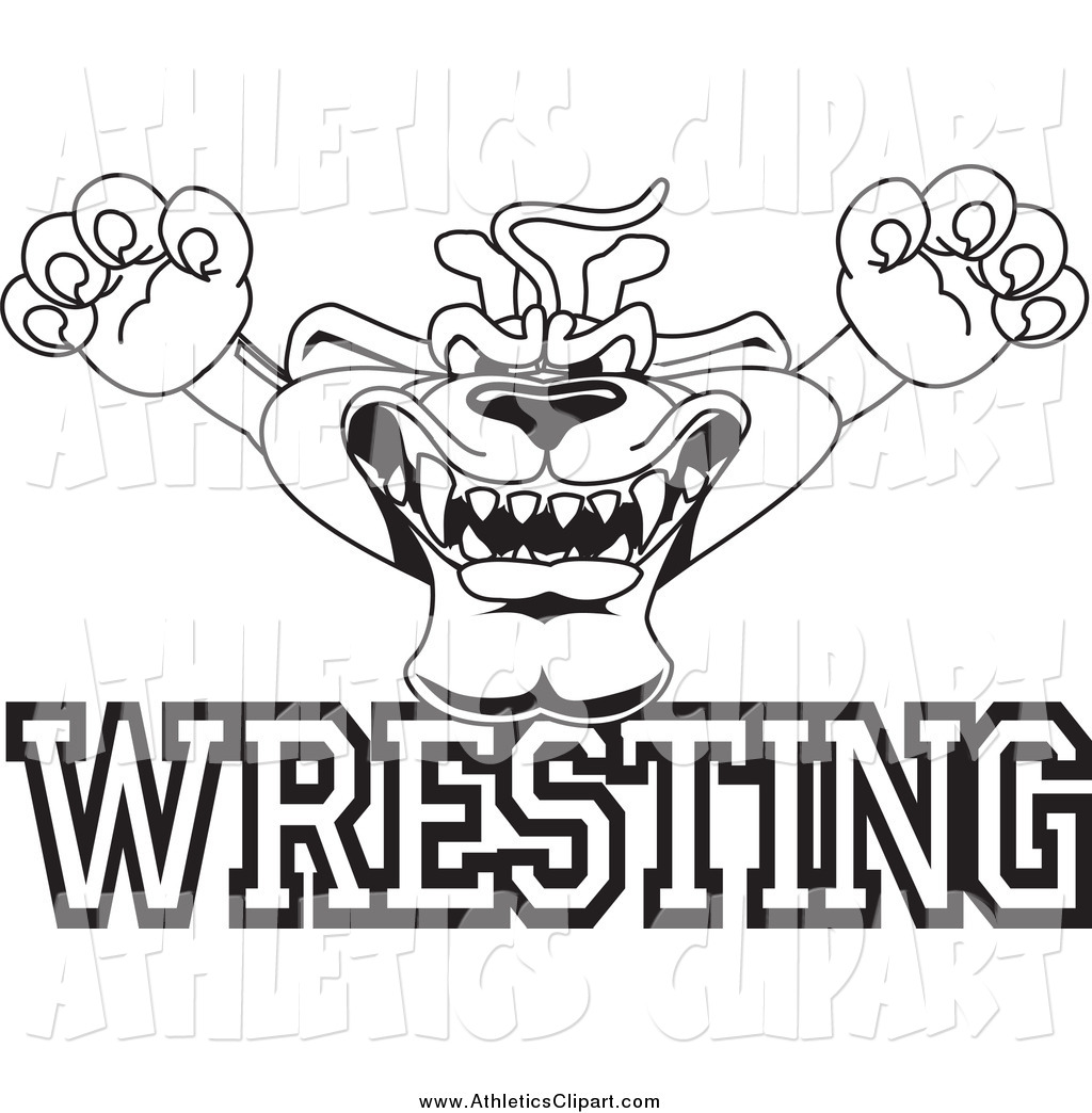 High School Wrestling Drawing At Getdrawings