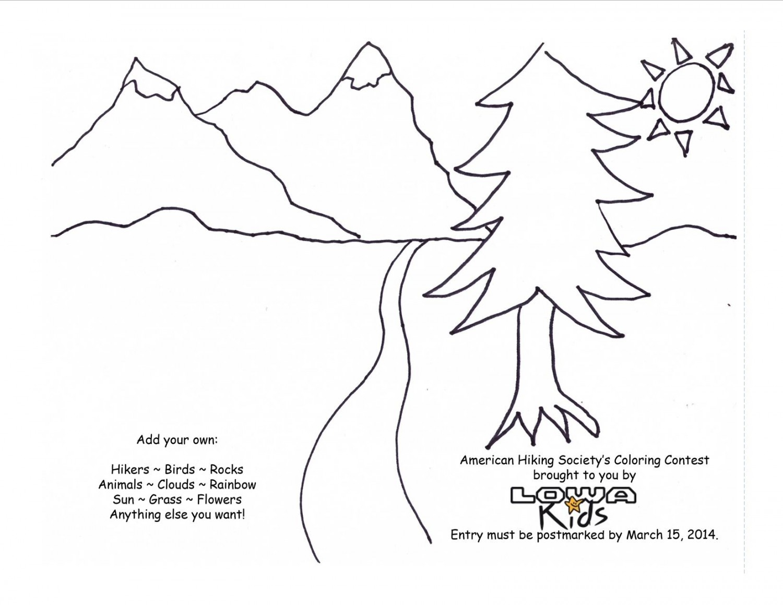 Hiker Drawing At Getdrawings