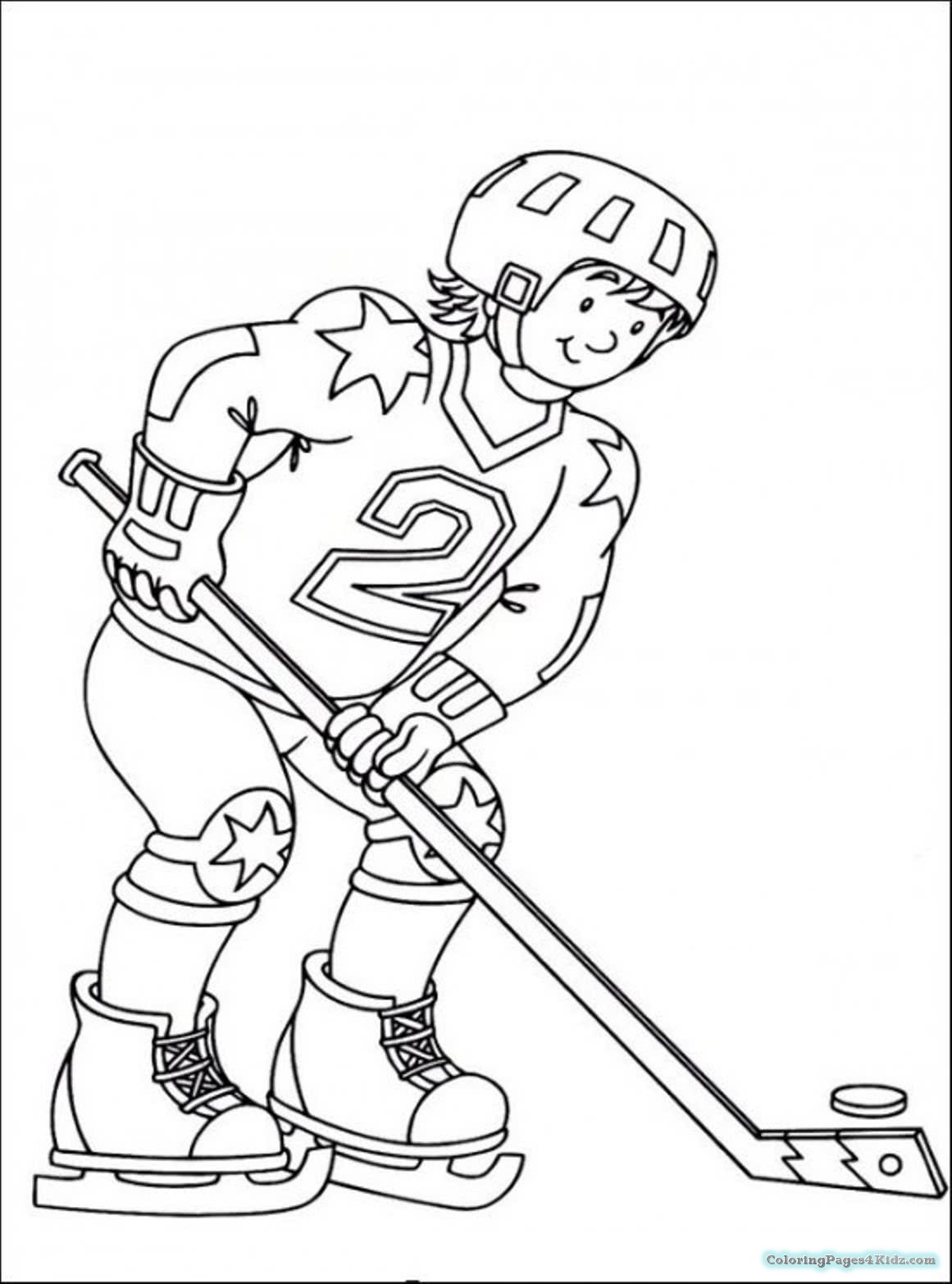 Hockey Drawing Pictures At Getdrawings