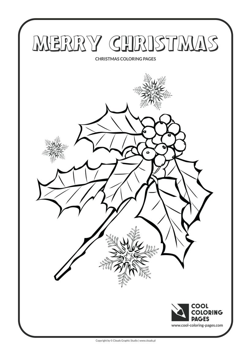 holly leaves and berries drawing at getdrawings com free for autumn leaves coloring page