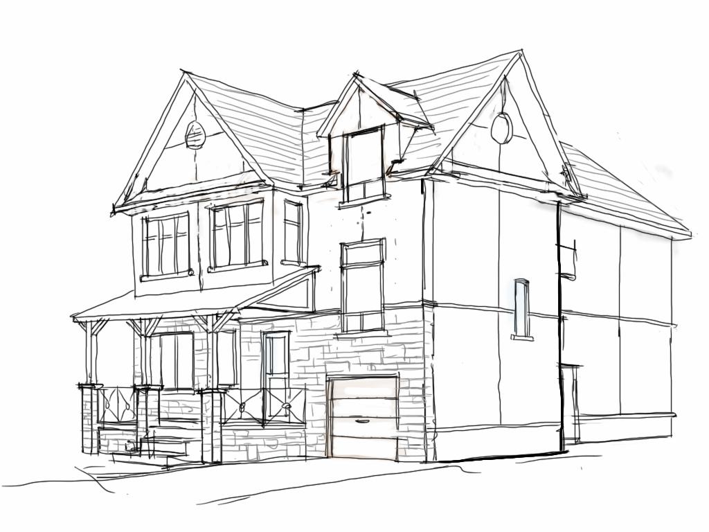 Home Drawing At Getdrawings