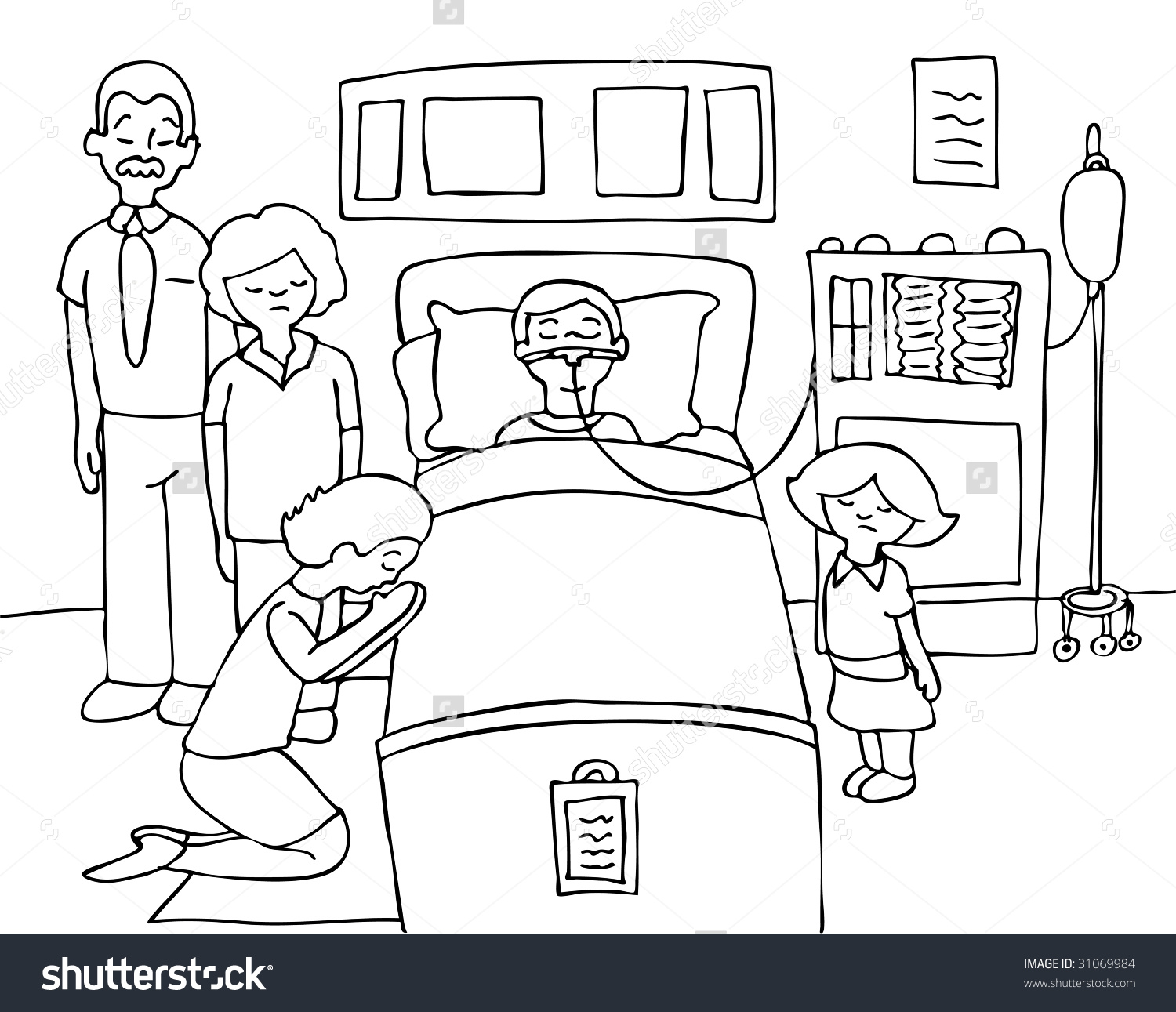 Scientist Clip Art Boy And Girl Coloring Page