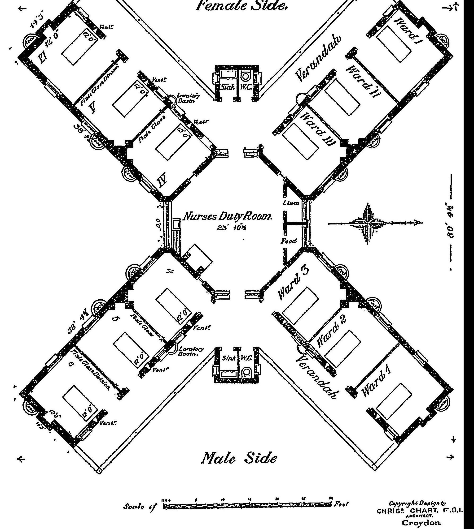 Hospital Building Drawing At Getdrawings
