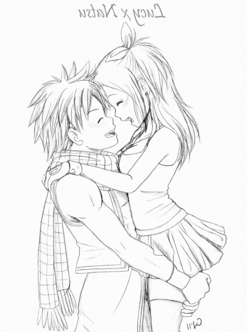 Hugging drawing at getdrawings com free for personal use