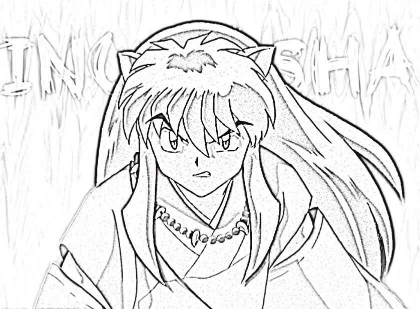 the best free inuyasha drawing images. download from 101