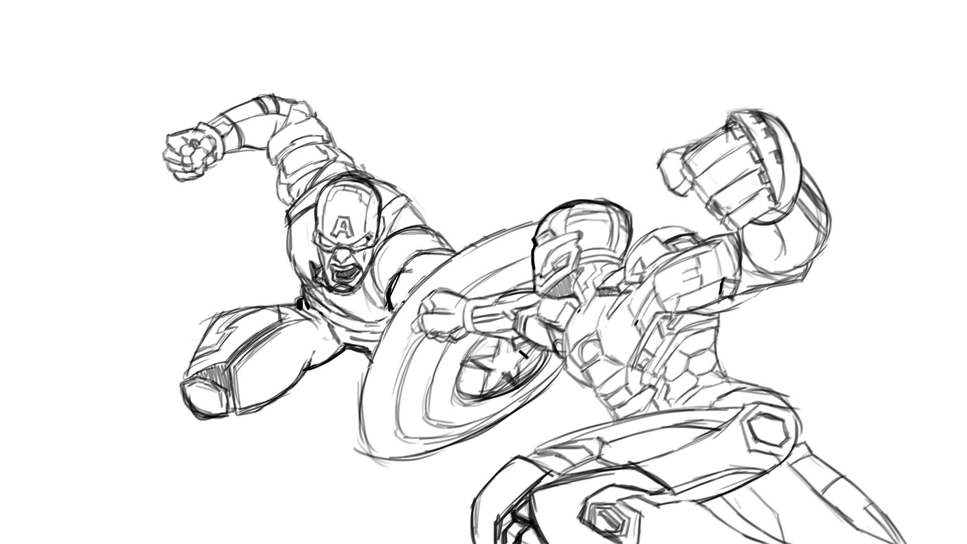 Iron Man Drawing Easy At Getdrawings