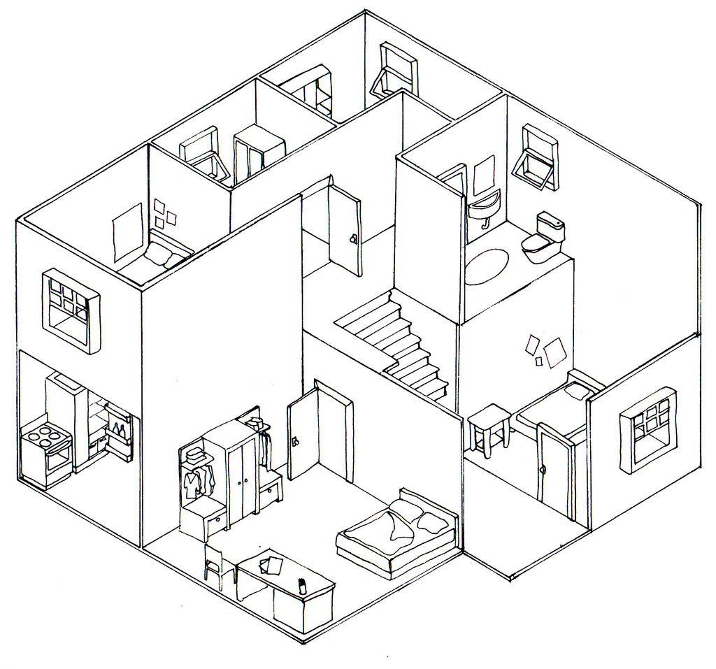 Isometric Drawing Exercises For Kids Cerca Con 3d