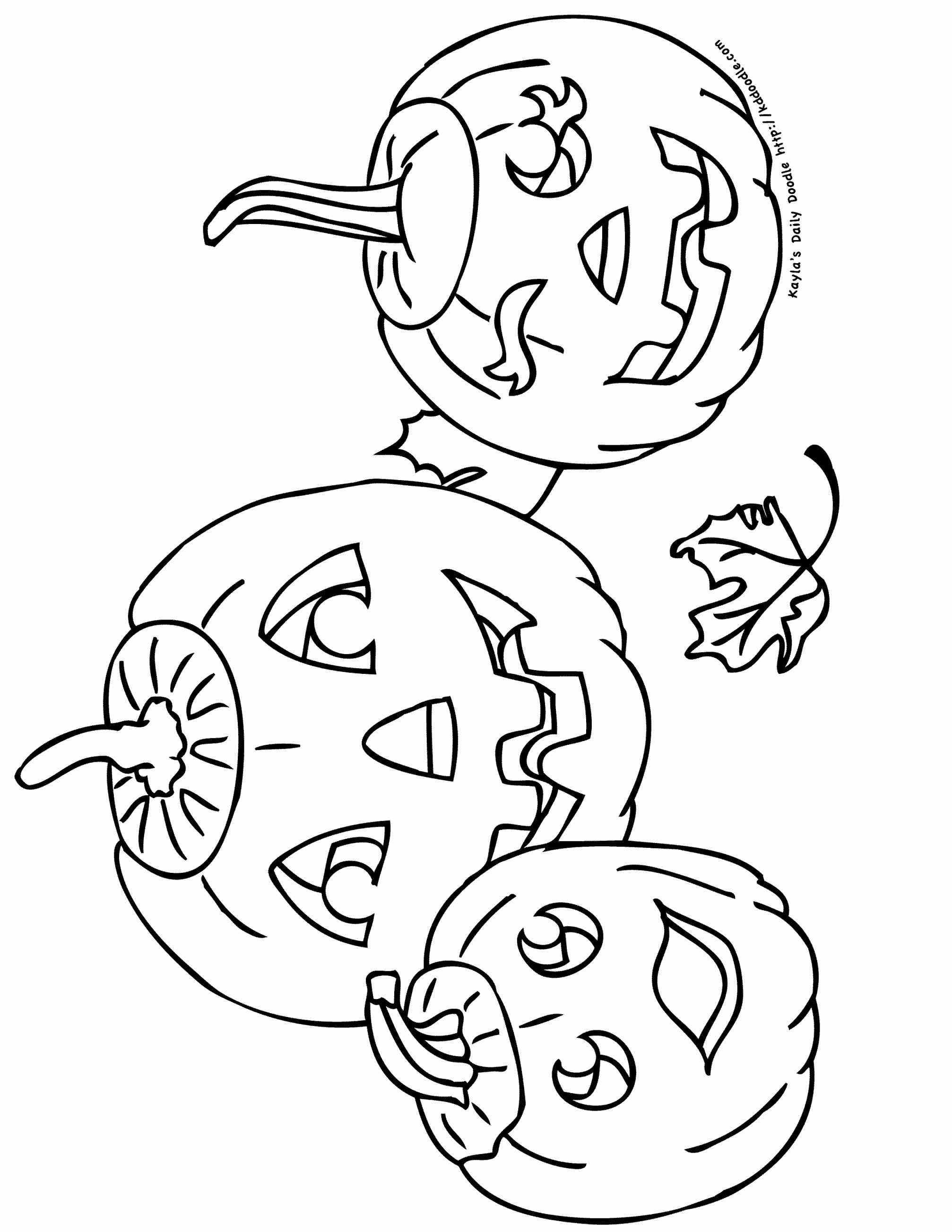 Jack O Lanterns Drawing At Getdrawings