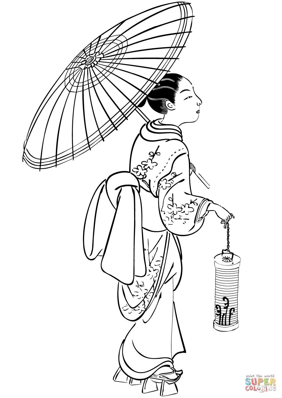 Japanese Lantern Drawing At Getdrawings