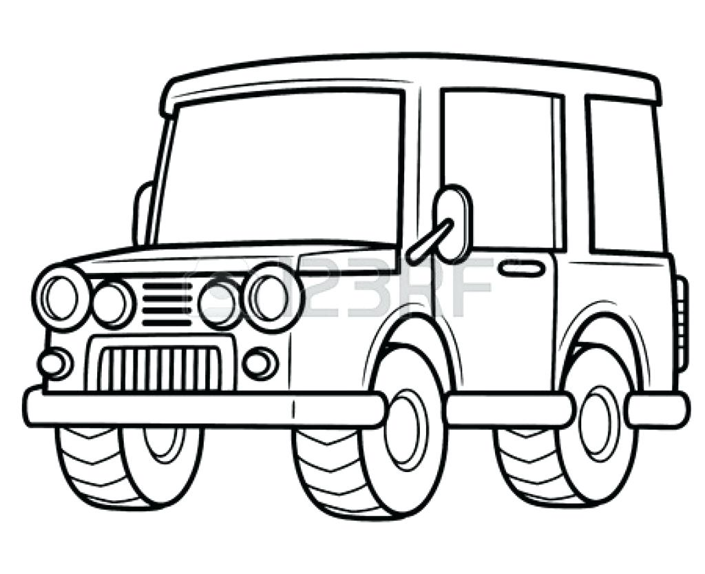 Jeep Drawing At Getdrawings