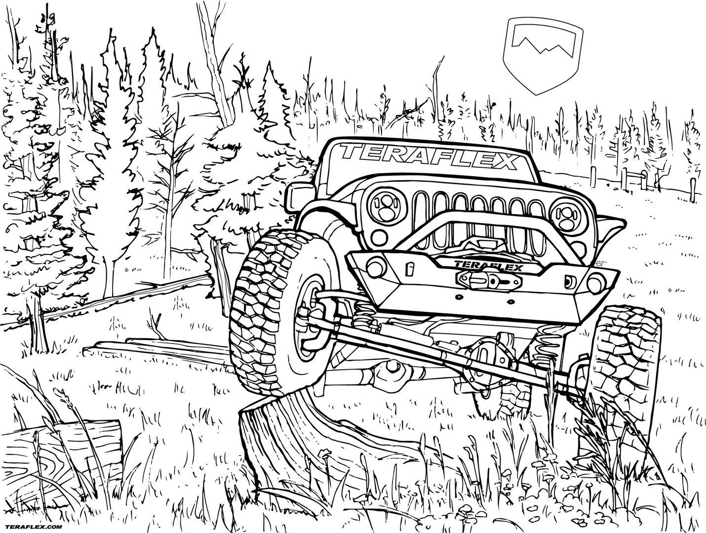 Jeep Drawing At Getdrawings