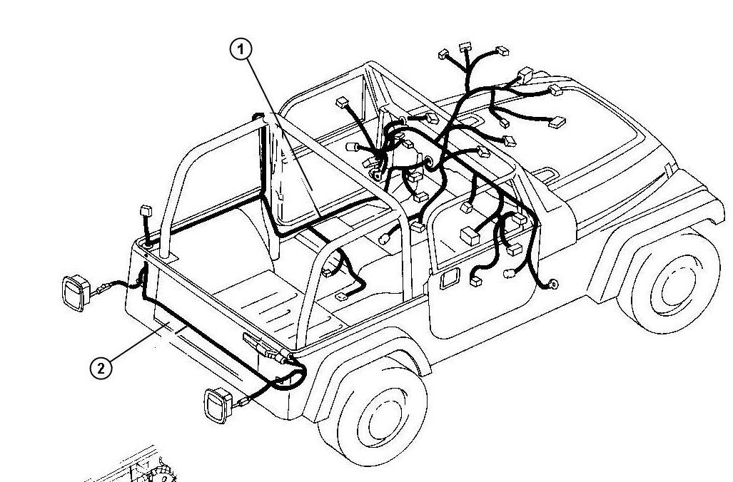 Jeep Wrangler Drawing At GetDrawings.com