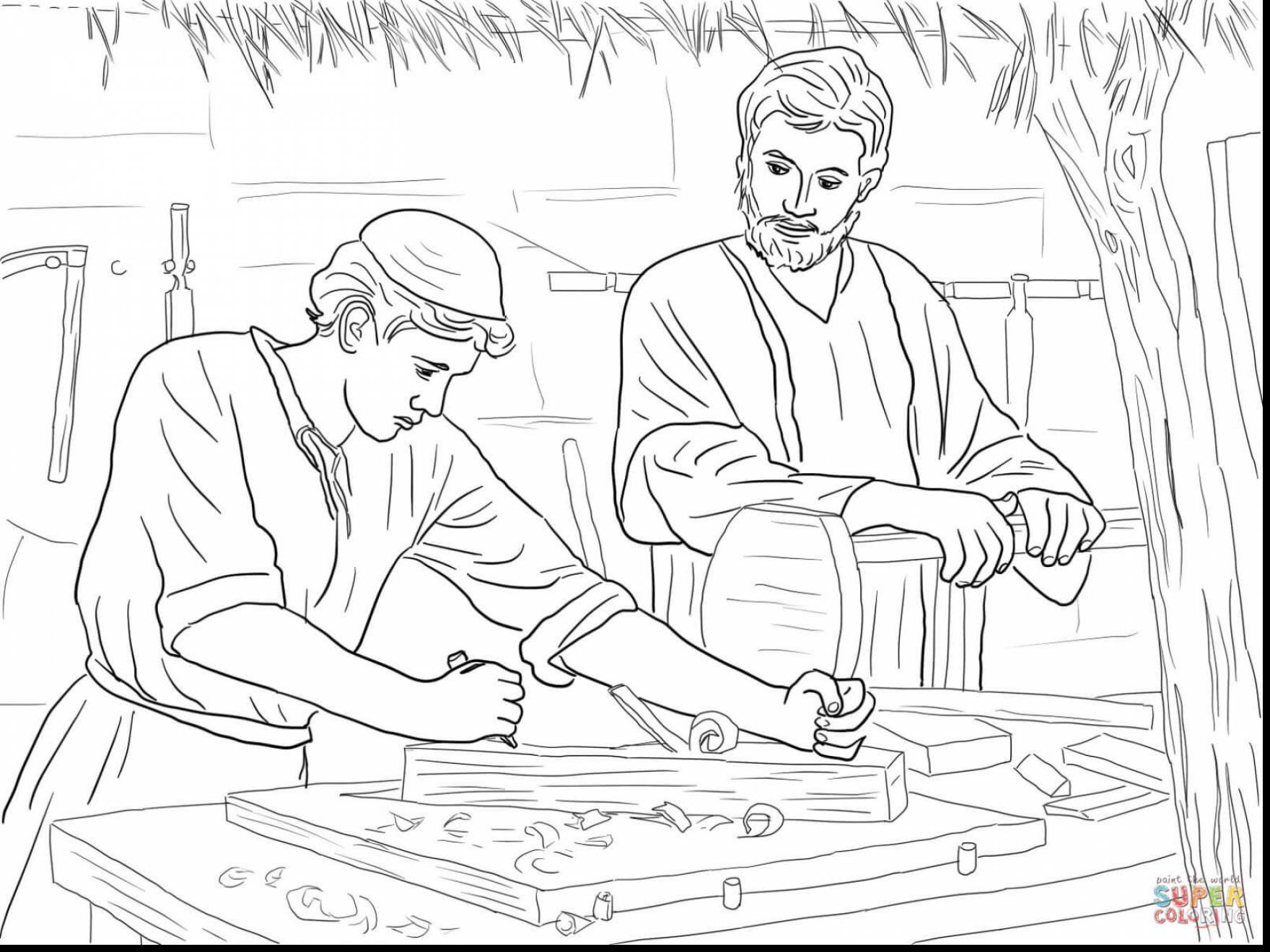 Jesus Face Drawing At Getdrawings