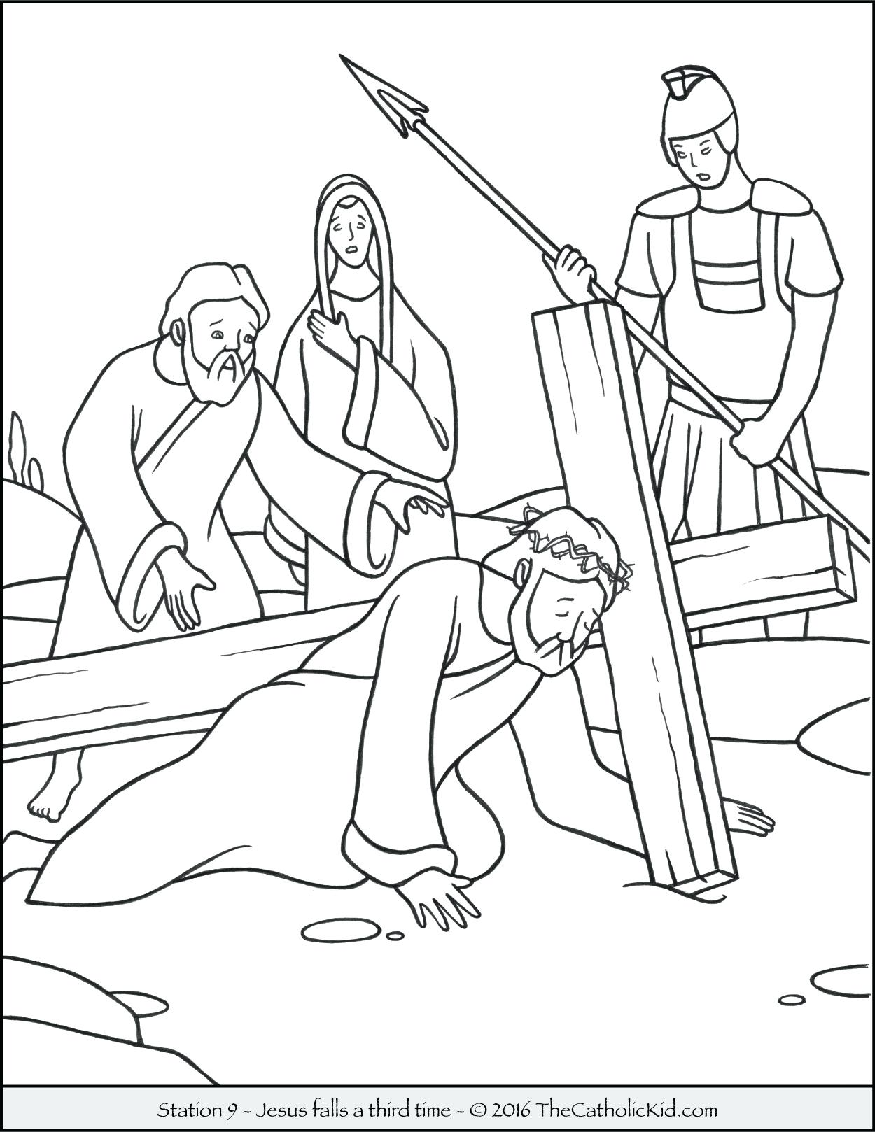 Jesus And The Children Coloring Page Free Coloring Pages Download ...