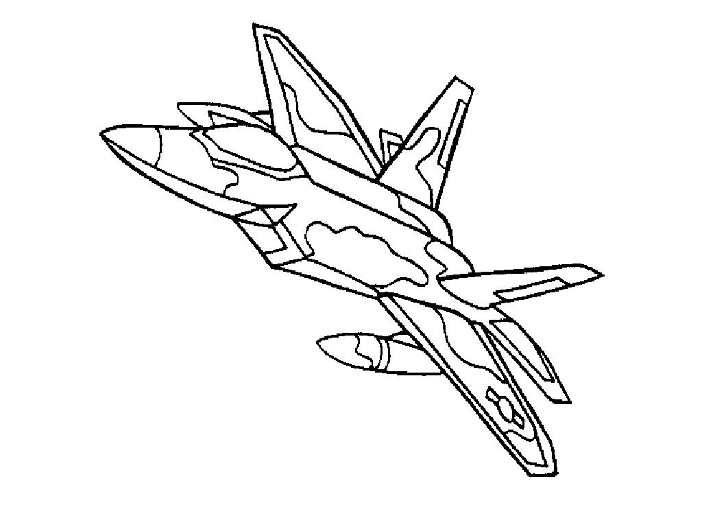 Jet Airplane Drawing At Getdrawings
