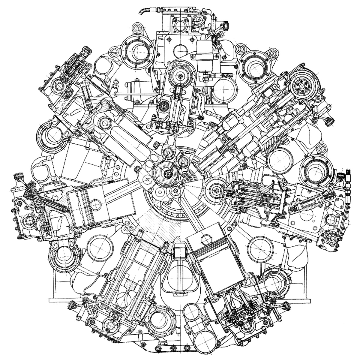The Best Free Engine Drawing Images Download From