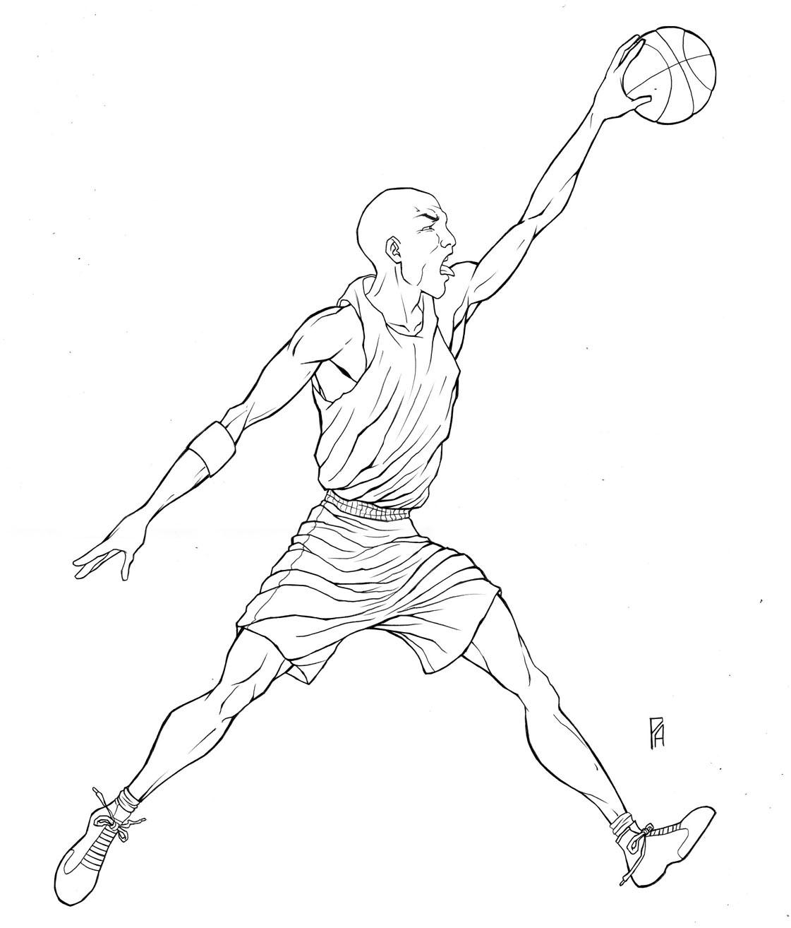 Jordan Drawing At Getdrawings