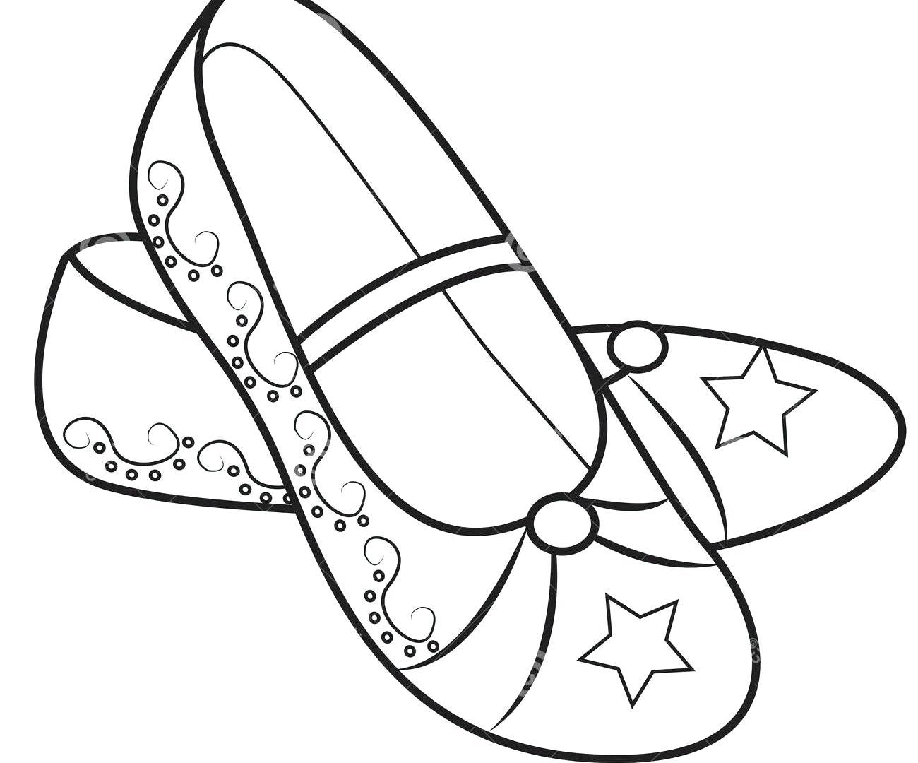 Jordan Drawing Shoes At Getdrawings