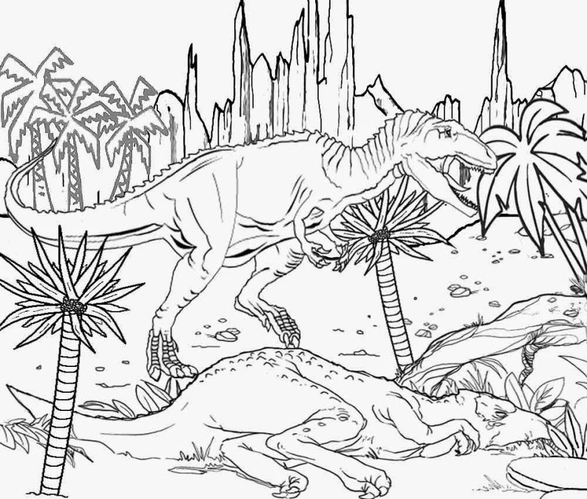 jurassic park t rex drawing at getdrawings  free download