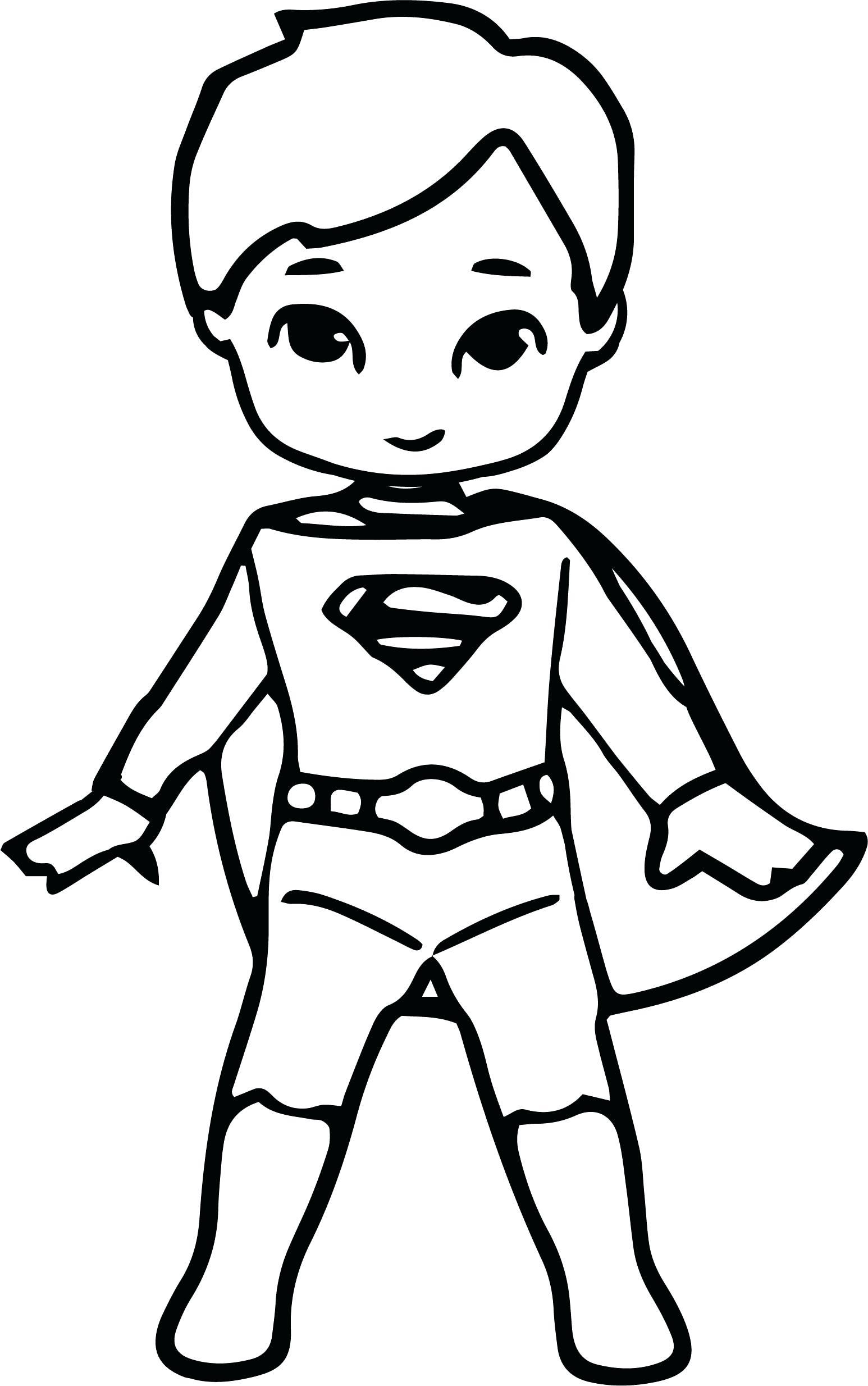 Kid Superhero Drawing At Getdrawings