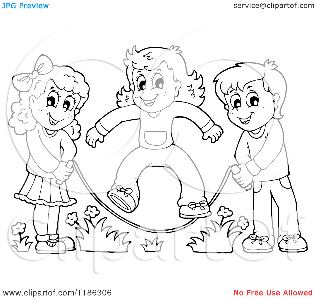 Kids Playing Drawing At Getdrawings