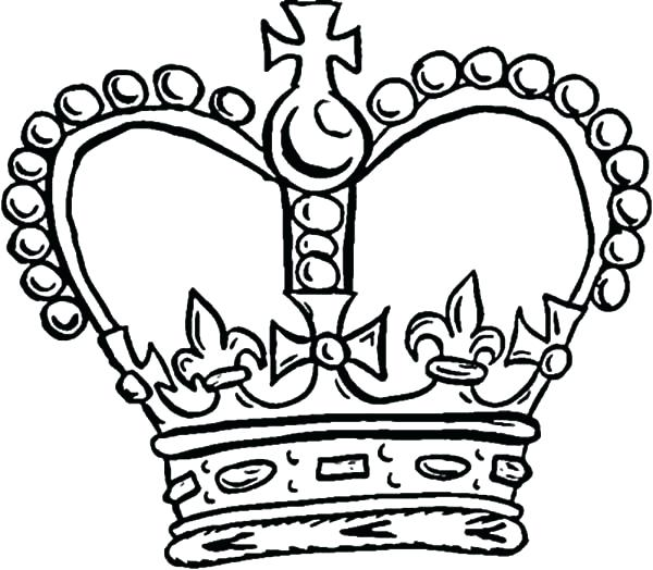 king and queen crown drawing at getdrawings  free download