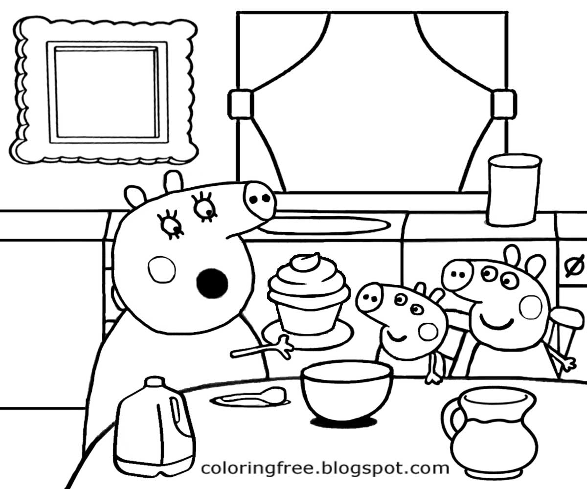 Kitchen Cartoon Drawing At Getdrawings